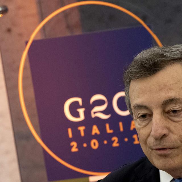 Talijanski premijer Mario Draghi