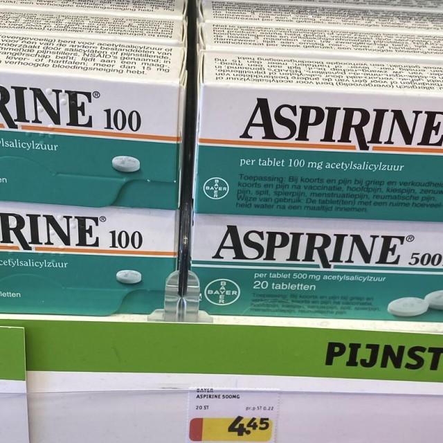Aspirin, ilustrativna fotografija