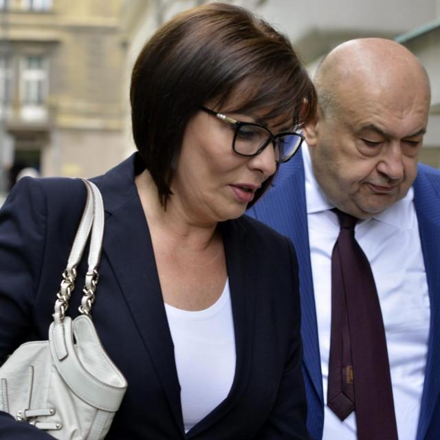 Marina Lovrić Merzel i njen odvjetnik Čedo Prodanović