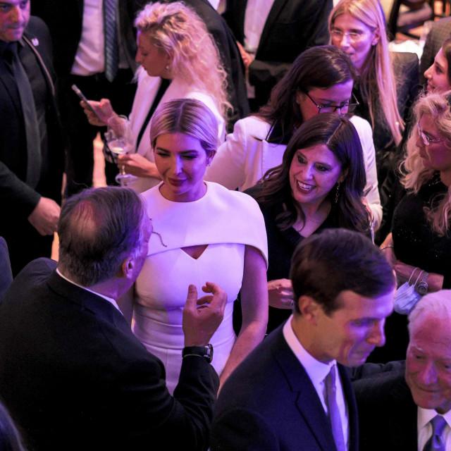 Ivanka Trump, Jared Kushner i Mike Pompeo na večeri u Izraelu