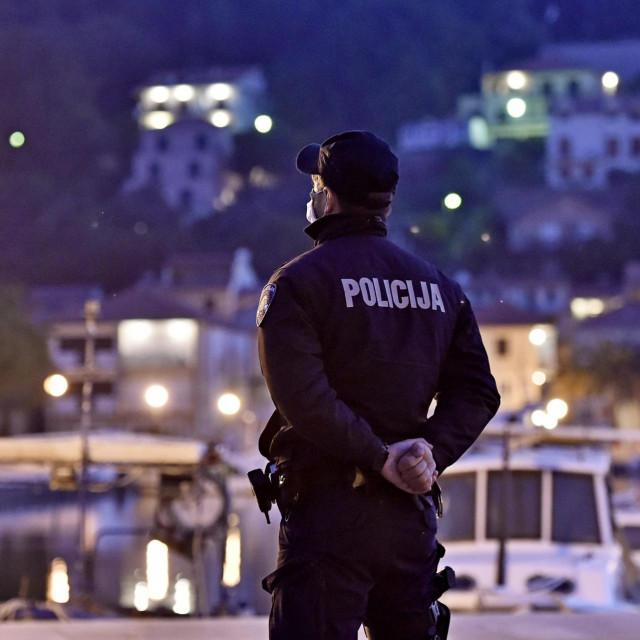 Policajac na Hvaru, ilustrativna fotografija