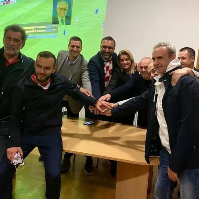 Glavni tajnik HDZ-a <strong>Krunoslav Katičić</strong>pružio podršku timu Mislava Hermana