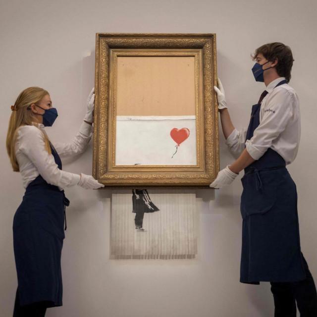 <strong>Banksyjeva </strong>slika