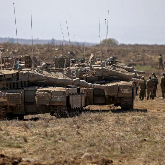 Izraelski vojnici blizu granice sa Sirijom