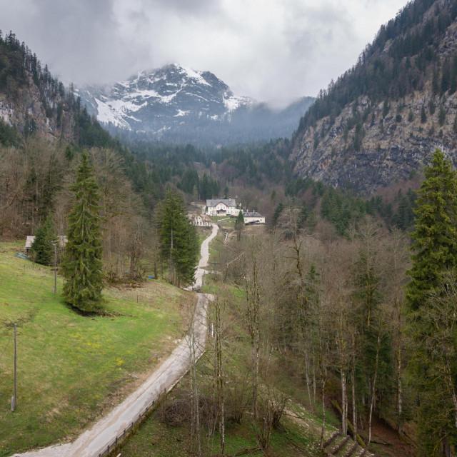 Austrija, u blizini rudnika soli
