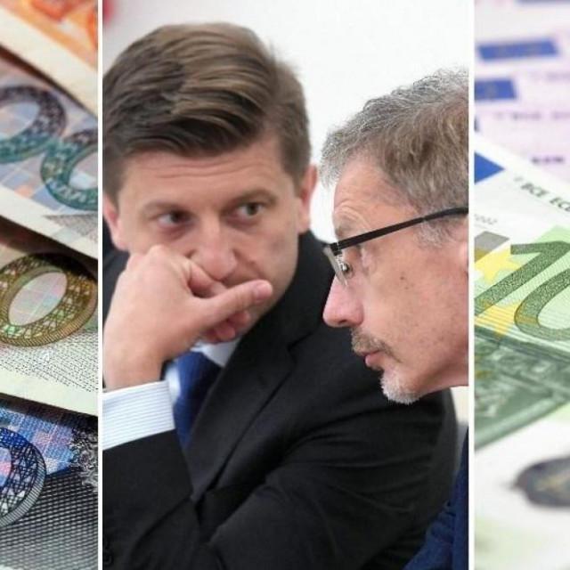 Zdravko Marić i Boris Vujčić/Ilustracija
