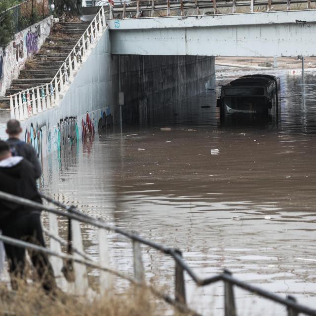 Poplava u Ateni, listopad 2021.