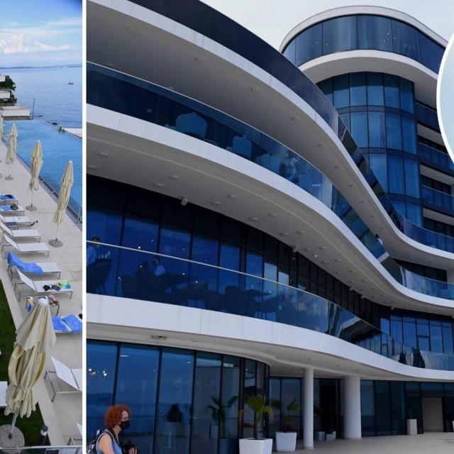 Hilton Rijeka Costabella Beach Resort & Spa i Andrej Babiš (u krugu)