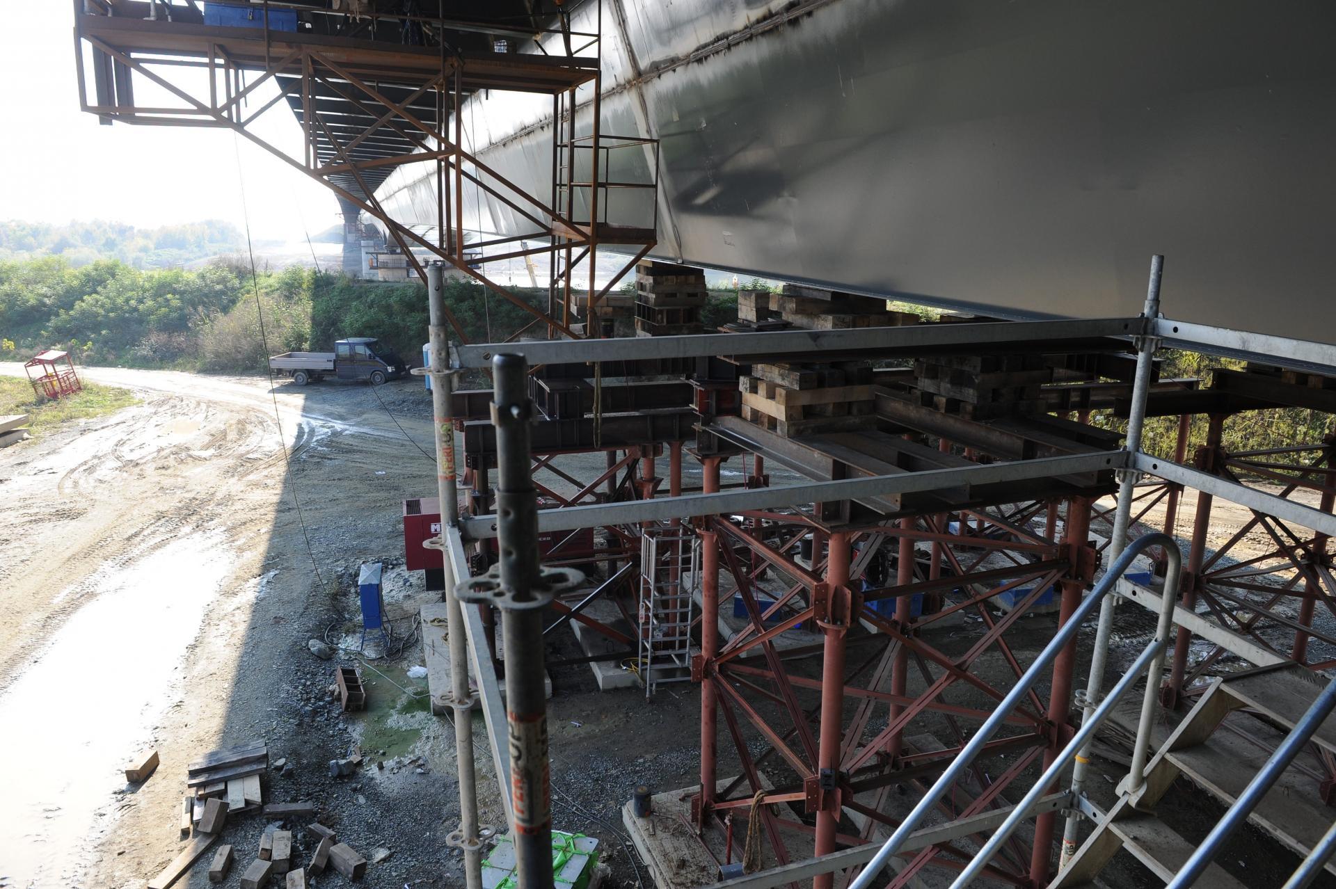 U petak spajanje mosta na Savi kod Gradiške 12816355