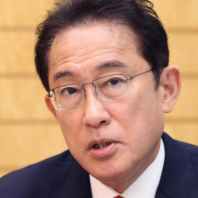 Japanski premijer Fumio Kishida