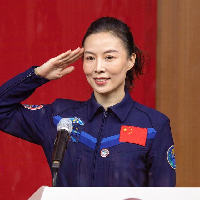 Kineska astronautica Wang Yaping