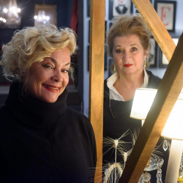 Anja Šovagović Despot i Mirjana Dugandžija