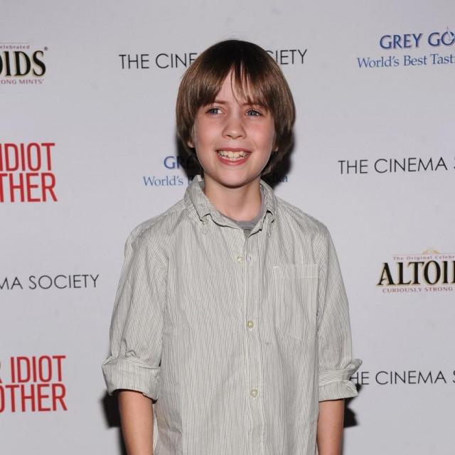 Matthew Mindler kao dječak