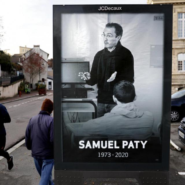 Poster Samuela Patyja