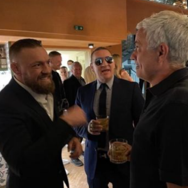 Conor McGregor i Jose Mourinho