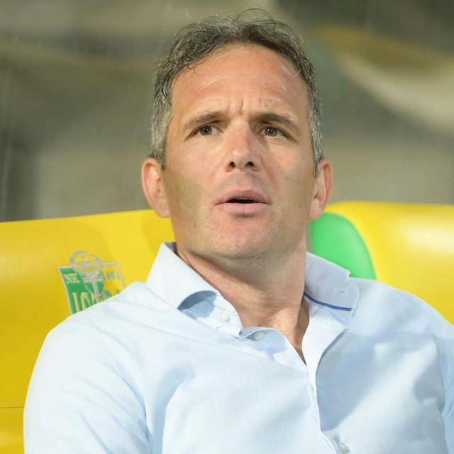 Trener Rijeke Goran Tomić
