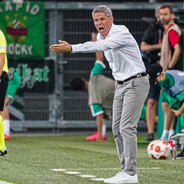 Trener Rapida Dietmar Kuehbauer