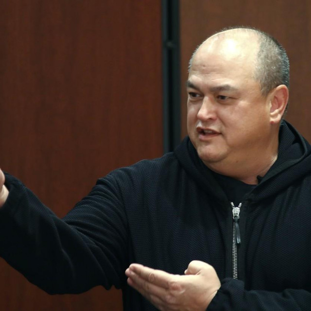TOKYO, JAPAN – DECEMBER 28, 2019: Bellator MMA President Scott Coker attends a weigh-in ceremony ahead of the Bellator 237 main card heavyweight bout between Russian MMA fighter Fedor Emelianenko and his American rival Quinton Jackson, the cross-promotional event between Bellator MMA and the Rizin Fighting Federation scheduled to take place at Saitama Super Arena on December 29. Valery Sharifulin/TASS,Image: 490101107, License: Rights-managed, Restrictions:, Model Release: no, Credit line: Valery Sharifulin/TASS/Profimedia