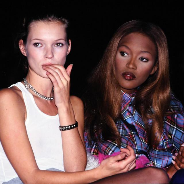 Kate Moss i Naomi Campbell