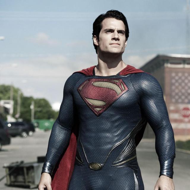 """Henry Cavill kao Superman u """"Čovjeku od čelika"""" iz 2013. godine redatelja Zacka Snydera.<br />"""