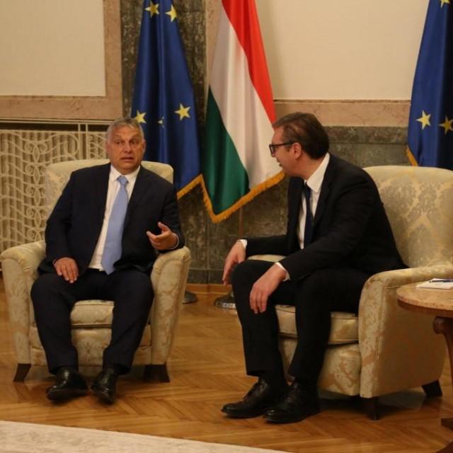 Orban i Vučić.