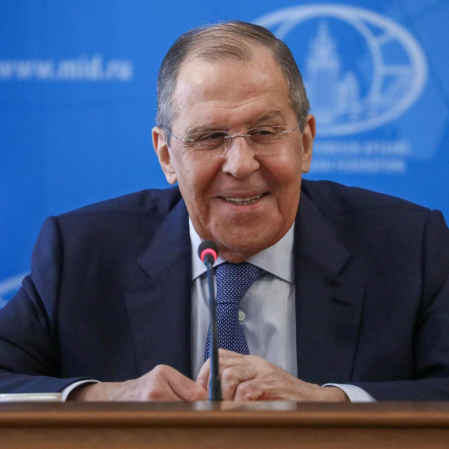 Ruski ministar vanjskih poslova Sergej Lavrov