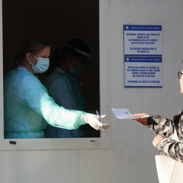 Testiranje na koronavirus, Ilustrativna fotografija
