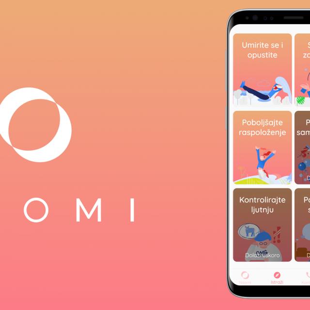 Naomi aplikacija