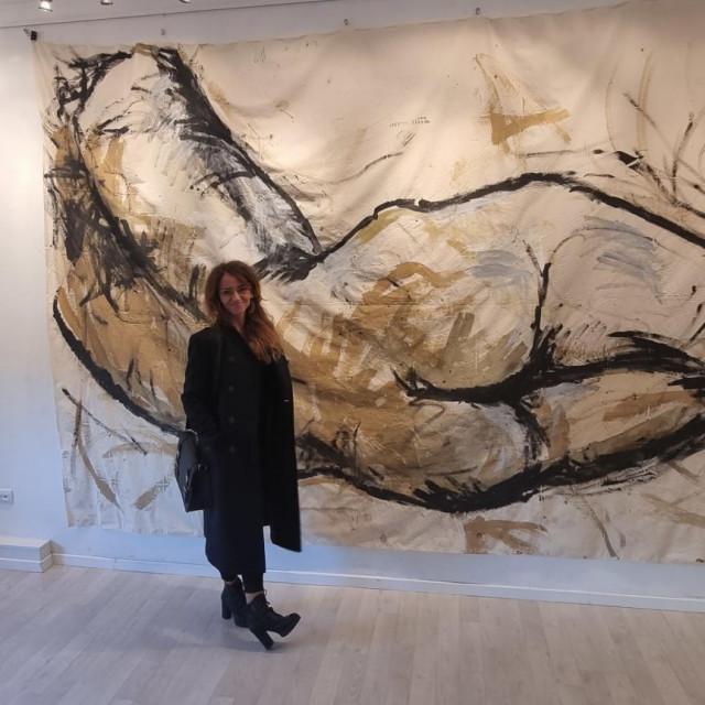 Umjetnica Georgette Yvette Ponté