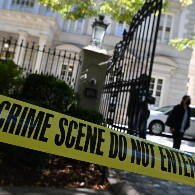 FBI ispred doma Olega Deripaske u Washingtonu