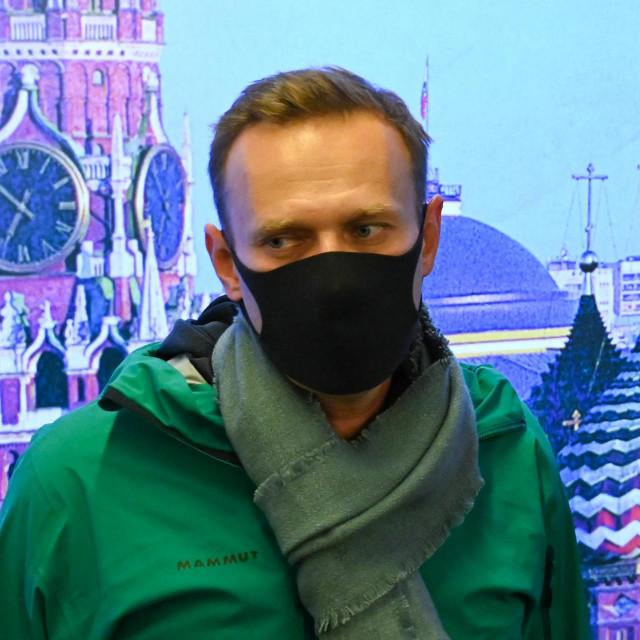 Ruski opozicijski političar Aleksej Navaljni snimljen u siječnju 2021.