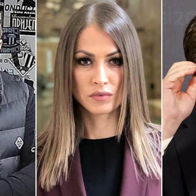 Velja Nevolja, Dijana Hrkalović i Aleksandar Vučić