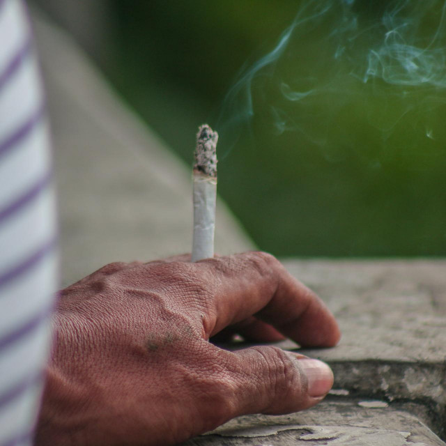 Pušač, ilustrativna fotografija
