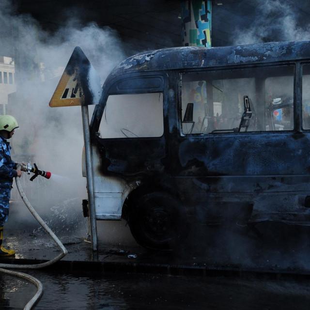 Eksplozija autobusa u Damasku