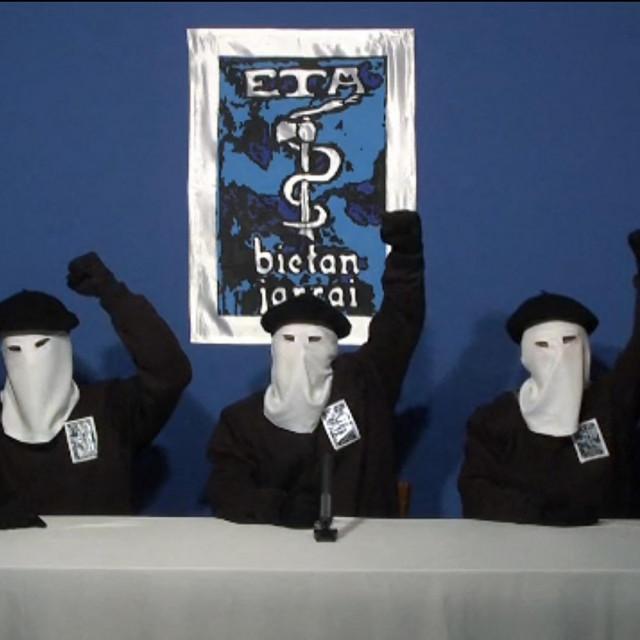 Maskirani čelnici ETA-e