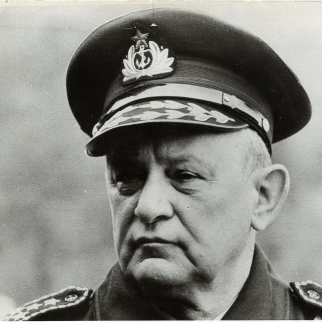 Branko Mamula, arhivska fotografija