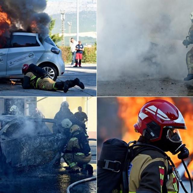 Vježba gašenja požara