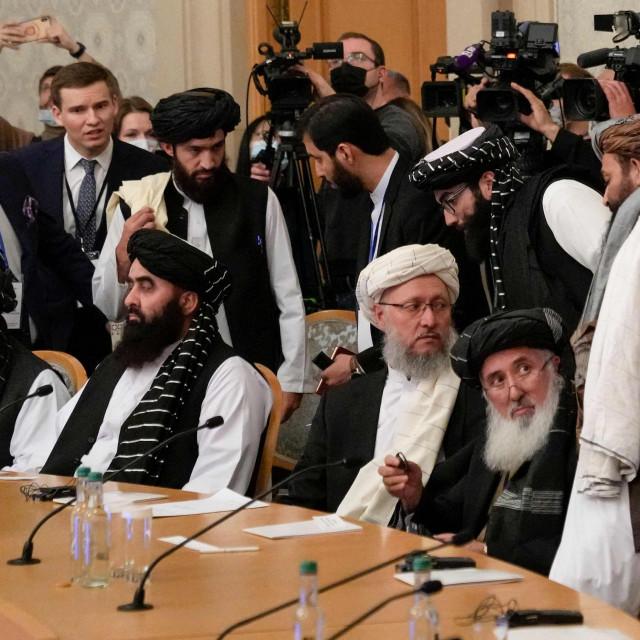 Članovi talibanske delegacije