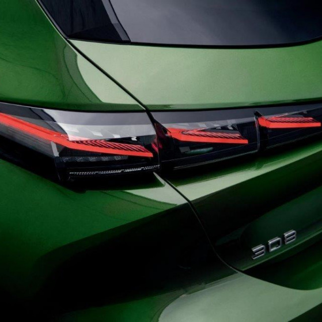 Peugeot 308 svjetla