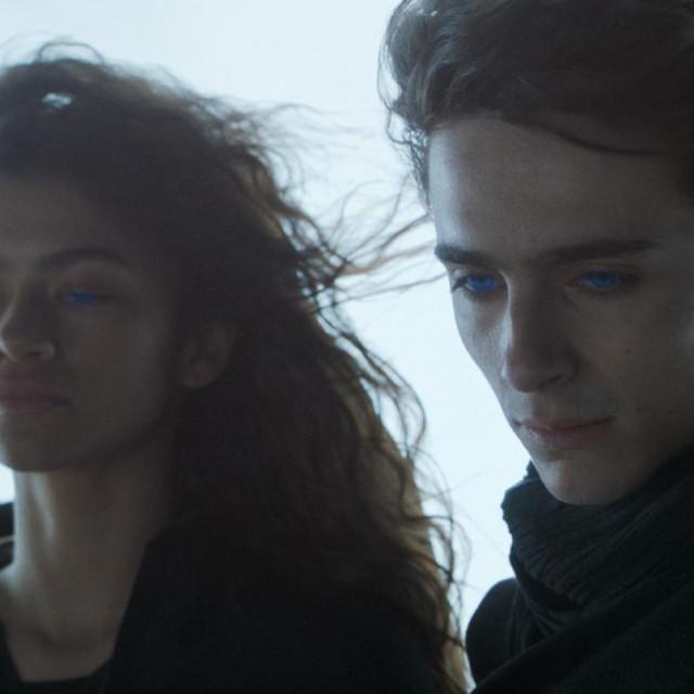 Chani (Zendaya) i Paul Atreides (Timothee Chalamet)