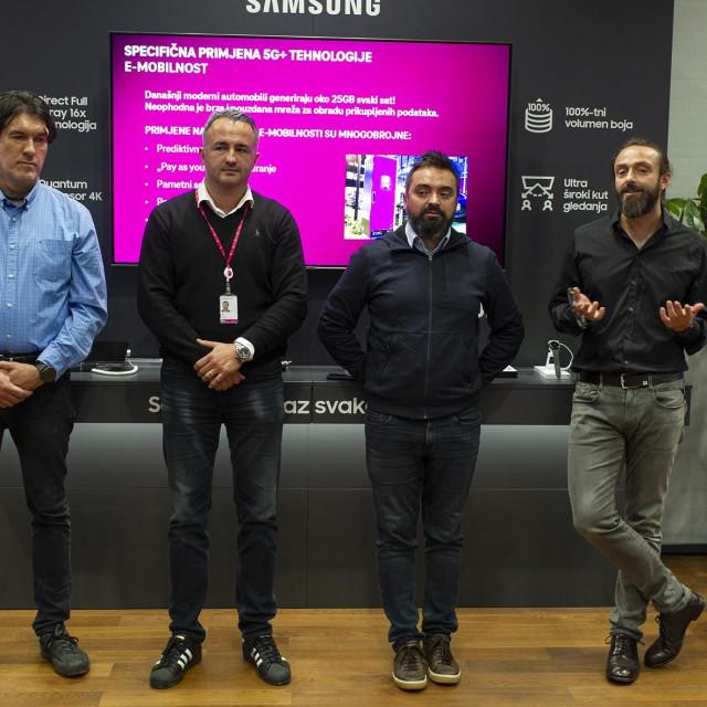 Bojan Mušćet, Dino Novosel, Goran Ježić i Boris Drilo