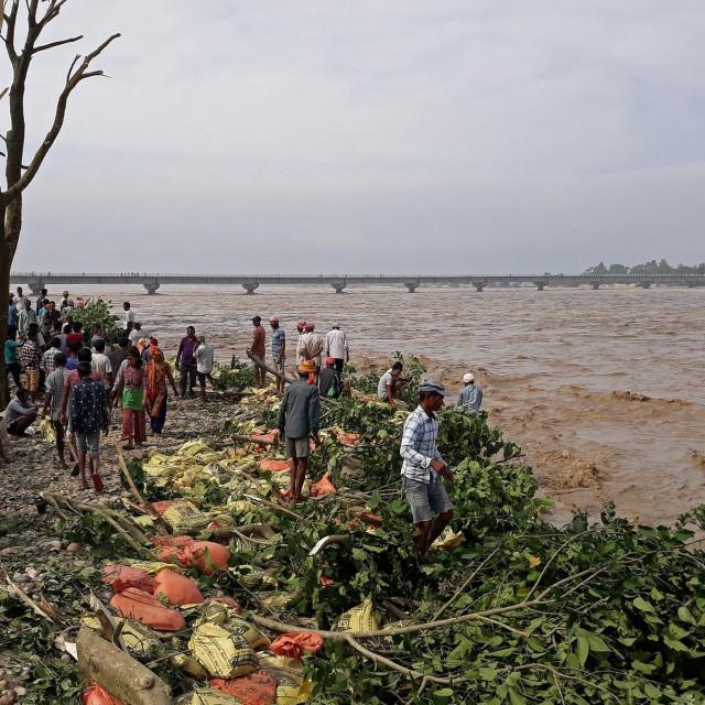 Stravični prizori poplava.