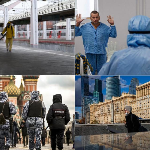 Lockdown u Moskvi