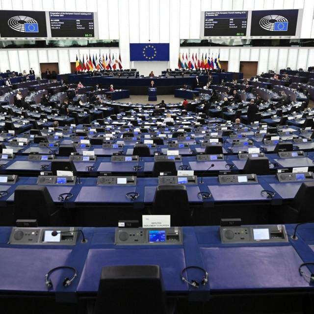 Europski parlament, listopad 2021.
