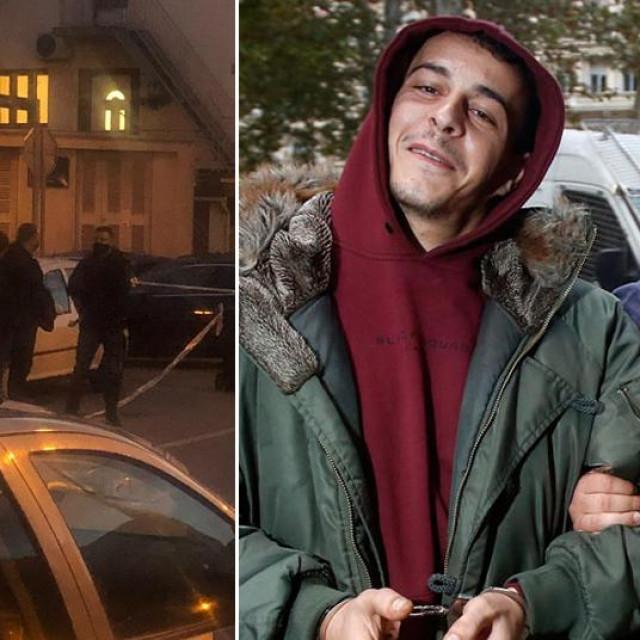 Kristija Dominiković prije i poslije uhićenja i očevid ispred kućeIgnacija Cirimotića