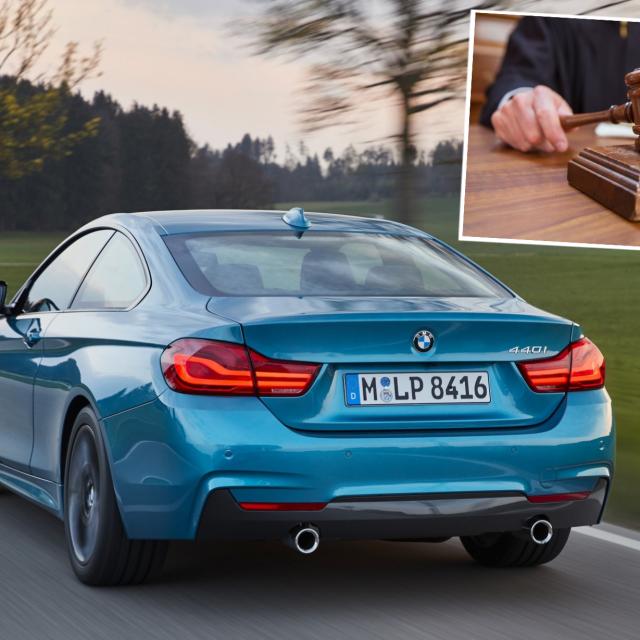 BMW 440i i sud, ilustracija