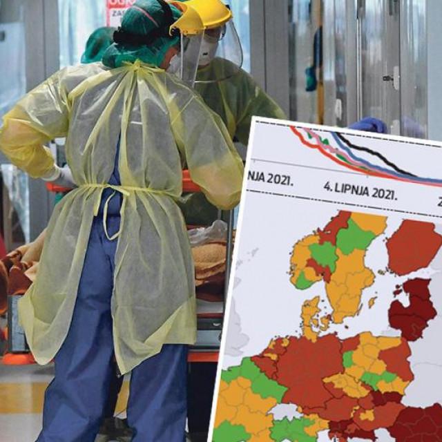 Hrvatska bilježi veliki porast broja zaraženih
