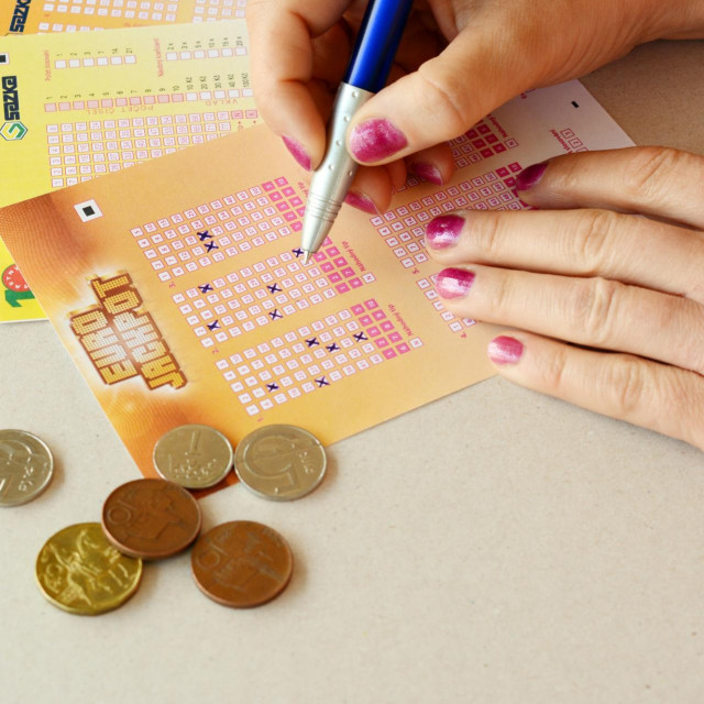 Ilustracija, Eurojackpot listić