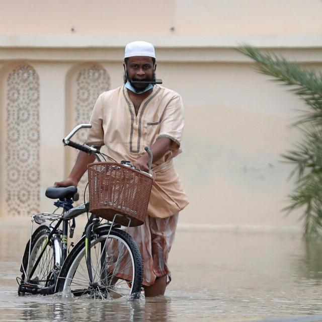 Poplave u Omanu / Ilustracija