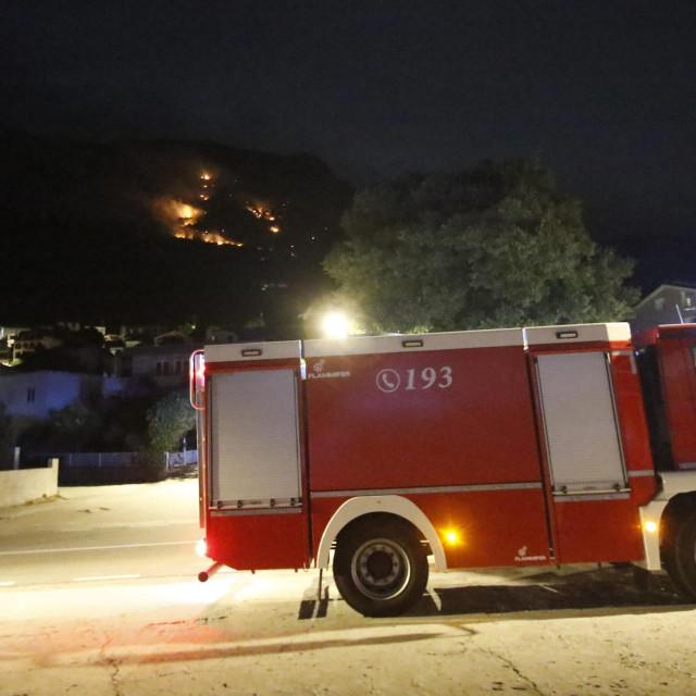Šumski požar kod Gradca
